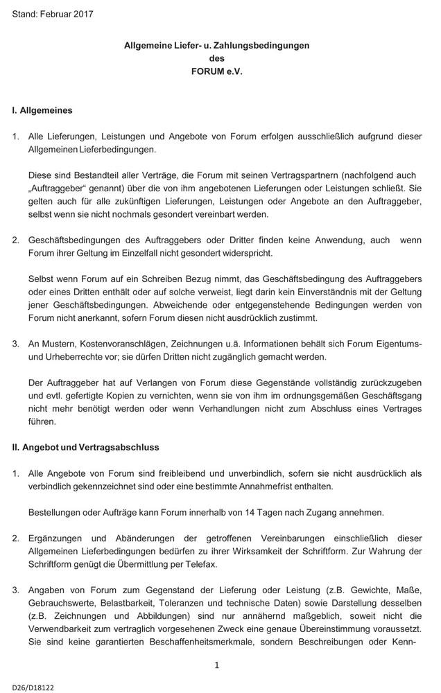 proviel GmbH - AGB